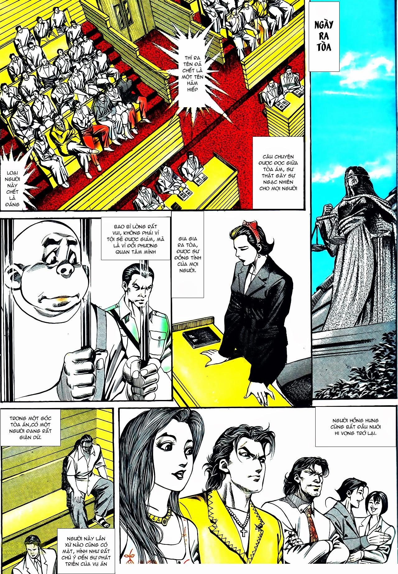 Người Trong Giang Hồ chapter 119: tù chung thân trang 23