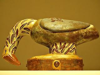 Fênix II [Francisco Brennand] (2004) - Cerâmica Vitrificada