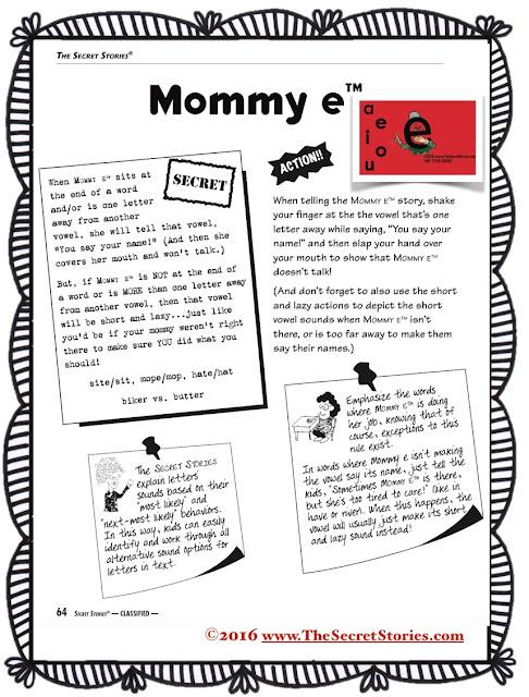 Secret Stories® Phonics Book— Mommy E®