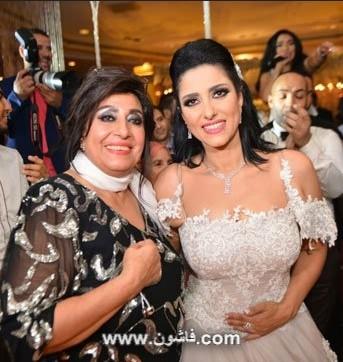 صور فستان زفاف حنان مطاوع