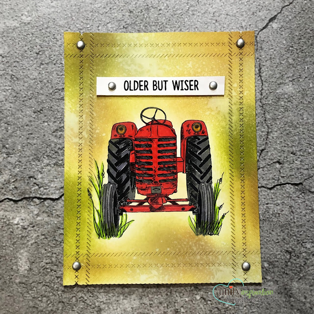 ScrappyScrappy: End of 2018 Big Bang with Unity Stamp #scrappyscrappy #unitystampco #card #cardmaking #stamp #stamping #quicktipvideo #youtube #timholtz #distressoxide #vintagetractor