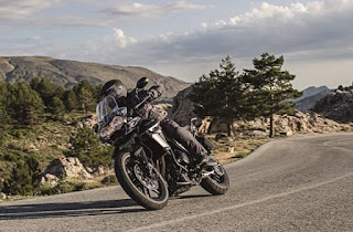 Triumph Tiger XR 800 mengaspal di India
