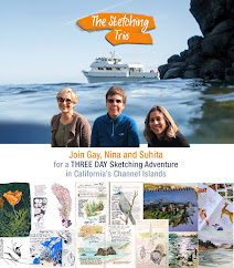 Channel Islands Sketching Adventure (August 2019)