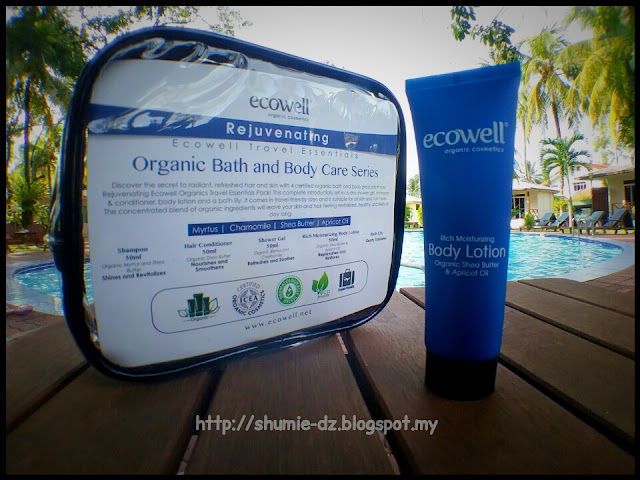 Ecowell - Travel Essentials Organic Bath and Body Care series : BODY LOTION