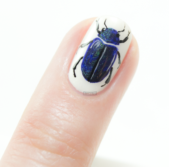 Beetle in the Polish by Katy @ Nailed It www.blognailedit.co