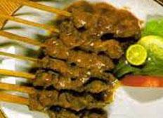 Resep praktis (mudah) sate ampet spesial (istimewa) khas Lombok yang enak, sedap, gurih, nikmat dan lezat