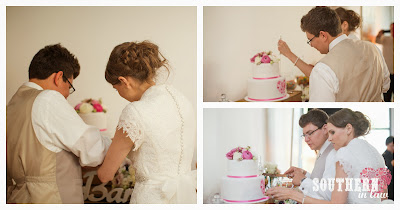 Gluten Free Wedding Cake Sydney - Sweetcheeks Cookies and Cakes - Chocolate Cake and Vanilla Blueberry Buttercream Cake