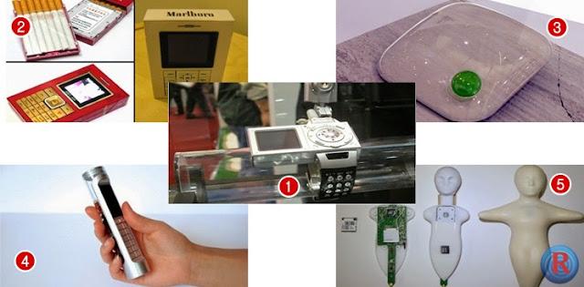 tidak banyak yang tahu bila para vendor ponsel pintar juga pernah bereksperimen dengan gadget-gadget dengan desain dan fungsi yang tidak terduga