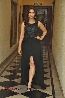 Actress Surabhi Stills in Black Long Dress at turodu Audio Launch  0084.JPG