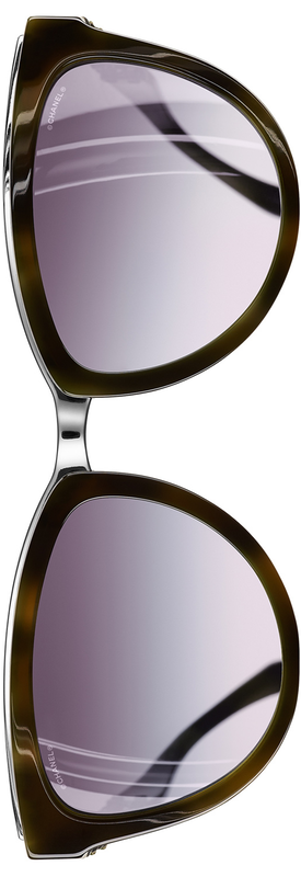 Chanel Cat Eye Winter 2017 Sunglasses