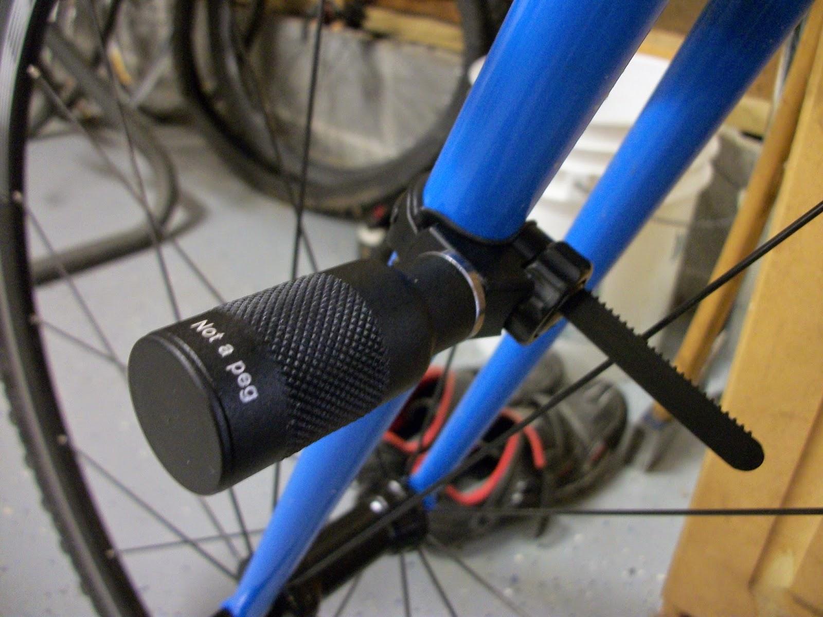 BIKEWRIGHT: DIY Fork Bike Light Mount