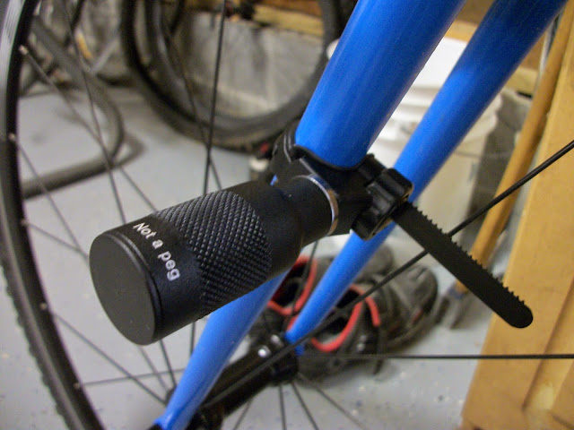 DIY Fork Bike Light Mount