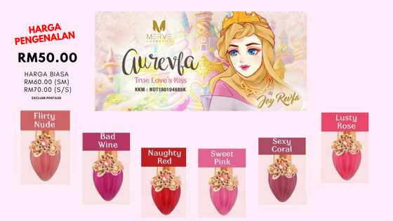 Harga Aurevfa True Love's Kiss