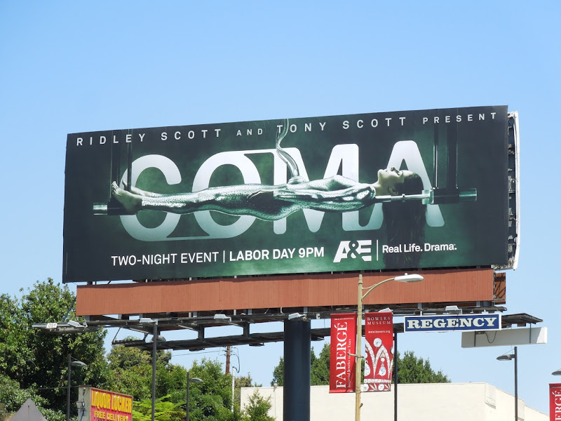 Coma TV mini series billboard