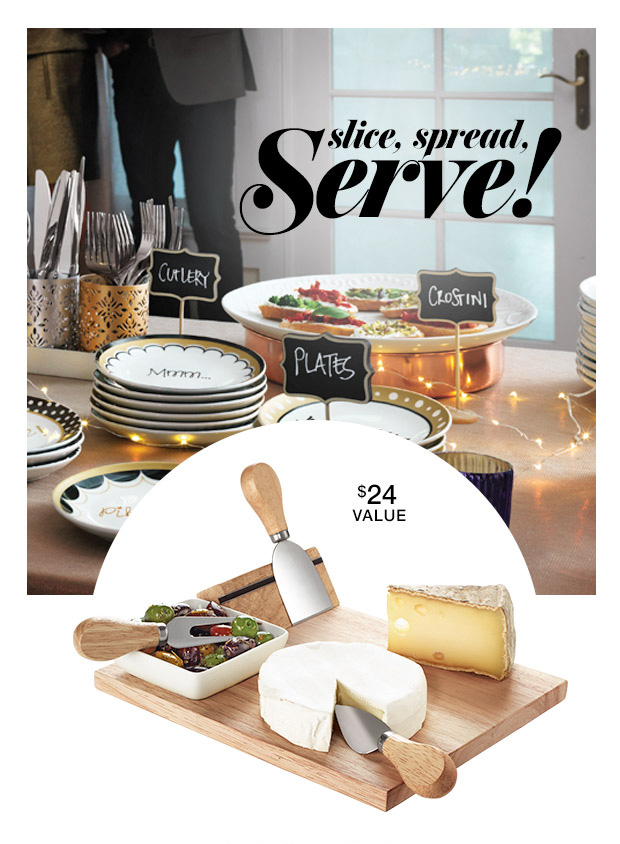 Free Avon Cheese Board with Purchase
