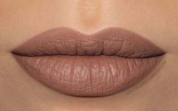 Make Up For Ever Artist Liquid Matte Lip Color Swatch 107 Neutral Beige