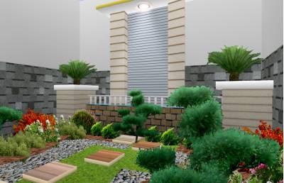 Model Desain Taman Rumah Minimalis Terindah