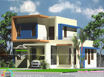 1500 Sq-ft 4 Bedroom Double Floor Home Kerala