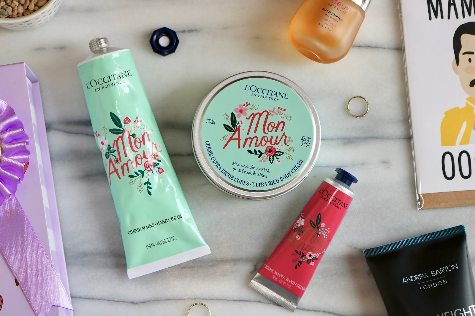L'OCCITANE x RIFLE PAPER MON AMOUR HAND CREAMS