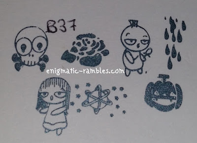 Review-Stamping-Plate-B37-Halloween-Theme