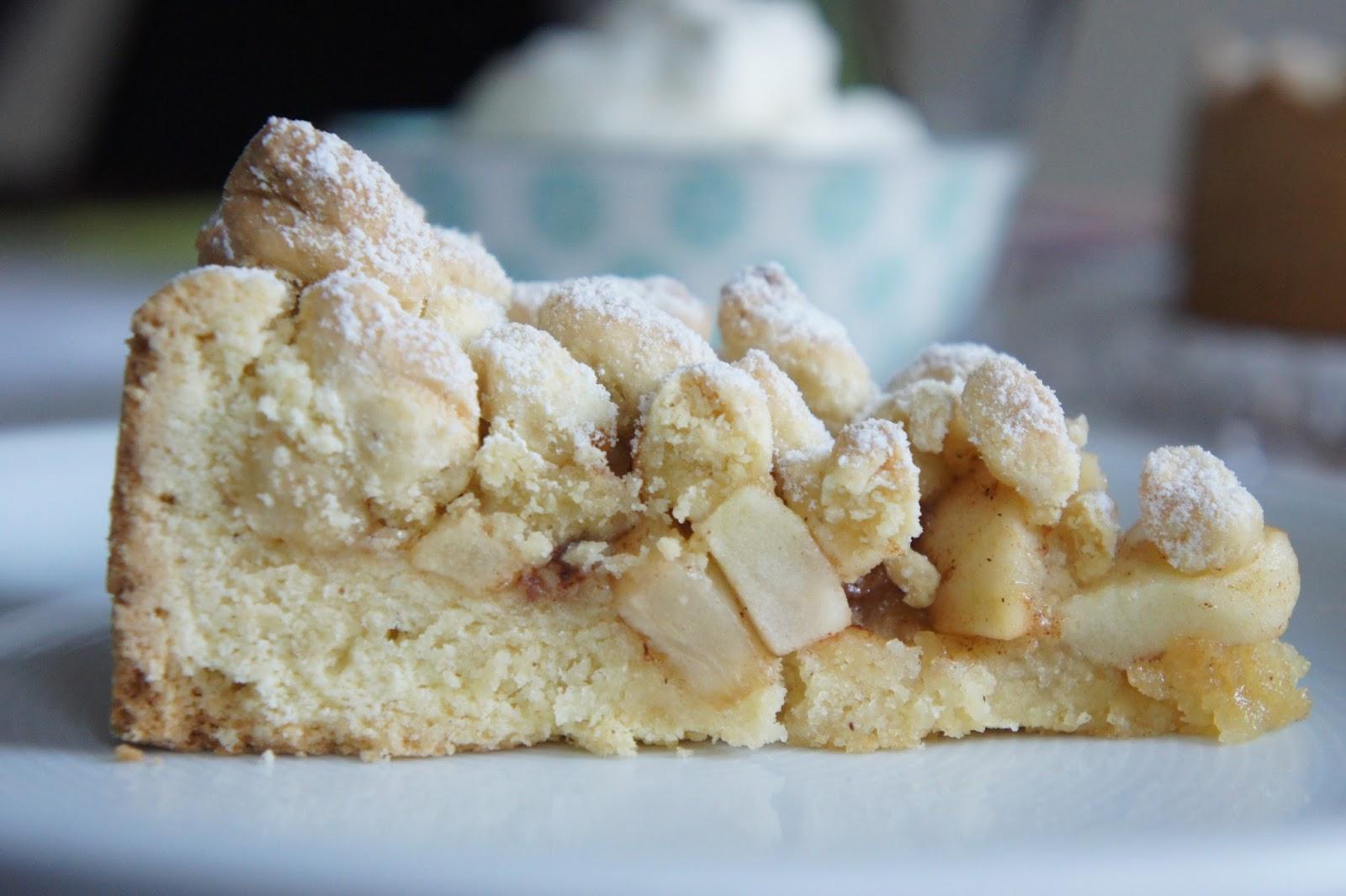 REZEPT: glutenfreier Apfel-Streusel-Kuchen | Ein ...