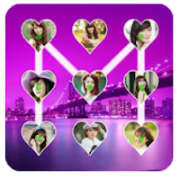 screen lock love photo app download and use
