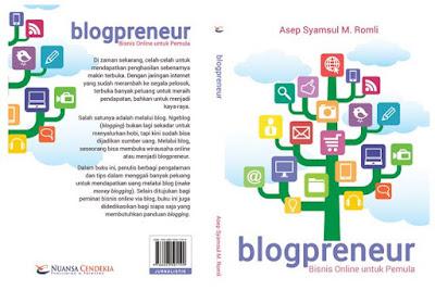 Buku Baru: Blogpreneur - Bisnis Online untuk Pemula