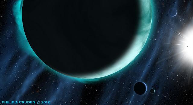 Billion Planets Astronomy and Art: Cosmic Art