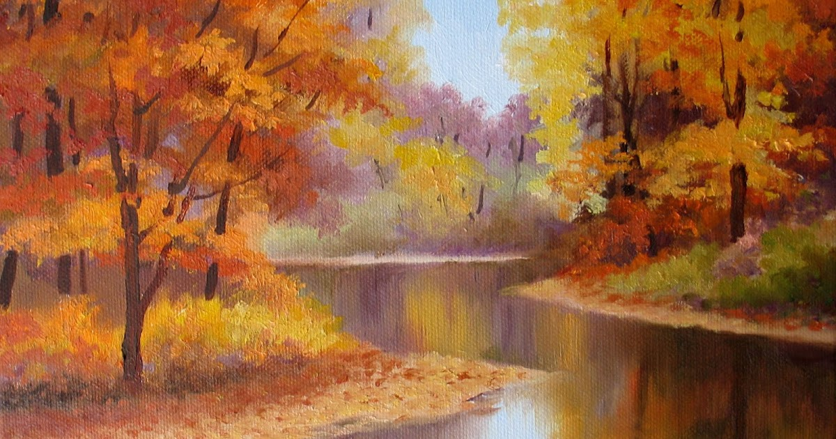 Nel 39 S Everyday Painting Fall Colors Quietly Sold