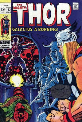 Thor #162, Galactus