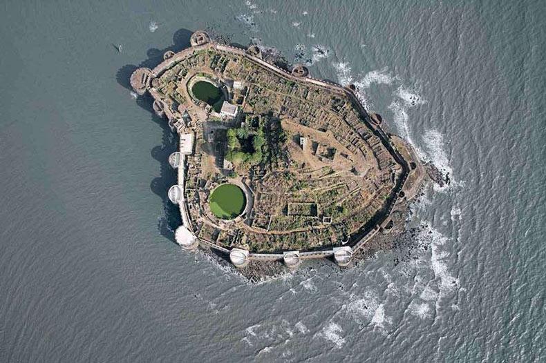 La fortaleza de Murud-Janjira | India
