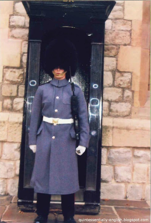 Tower Guard at Tower of London in London, England