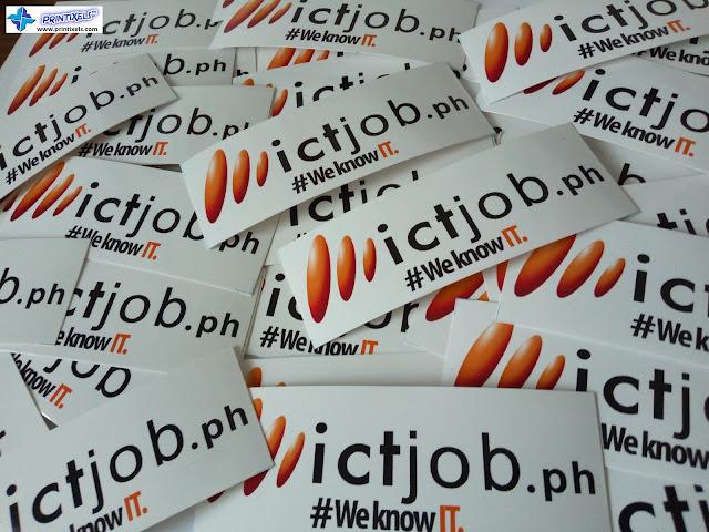 ICTjob.ph Ritrama Vinyl Stickers