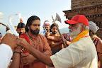 Om Namo Venkatesaya movie working stills-thumbnail-cover