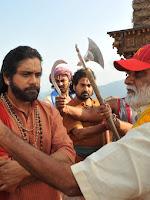 Om Namo Venkatesaya movie working stills-cover-photo