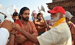 Om Namo Venkatesaya movie working stills-thumbnail
