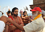 Om Namo Venkatesaya movie working stills