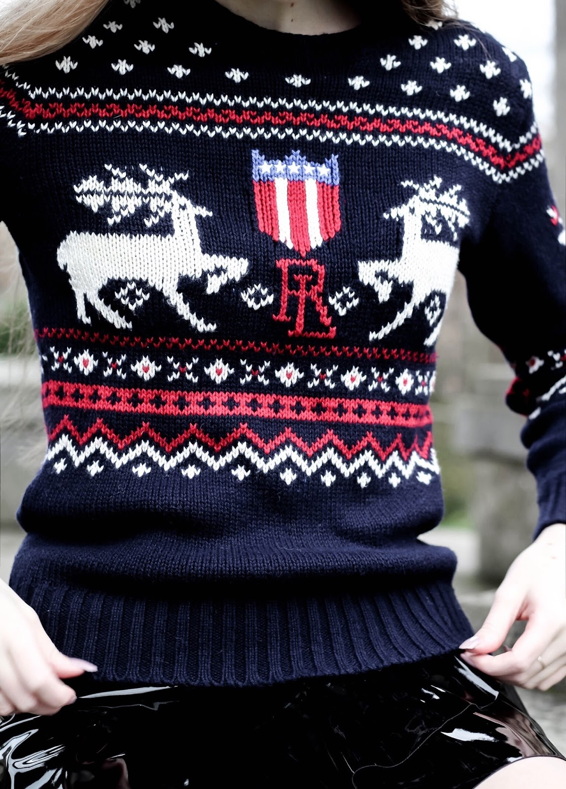 Luxury Fashion Ralph Lauren Christmas Jumper