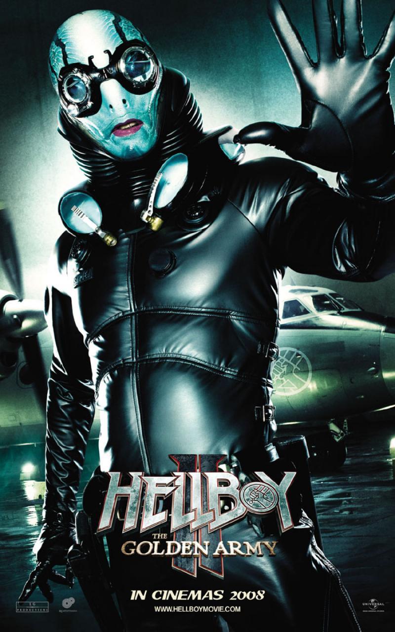 Posters De Hellboy Ii The Golden Army