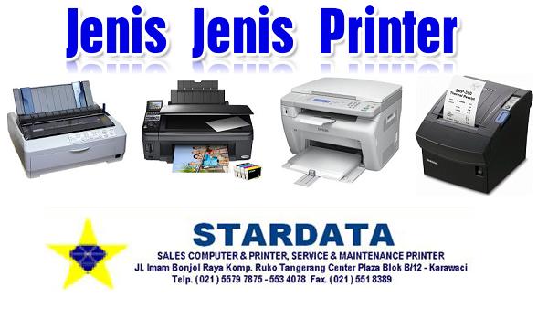 Jenis Jenis Printer