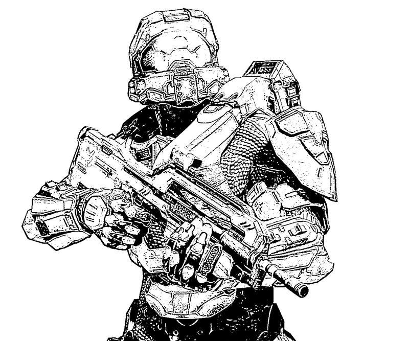 Halo 4 Master Chief Skill Yumiko Fujiwara