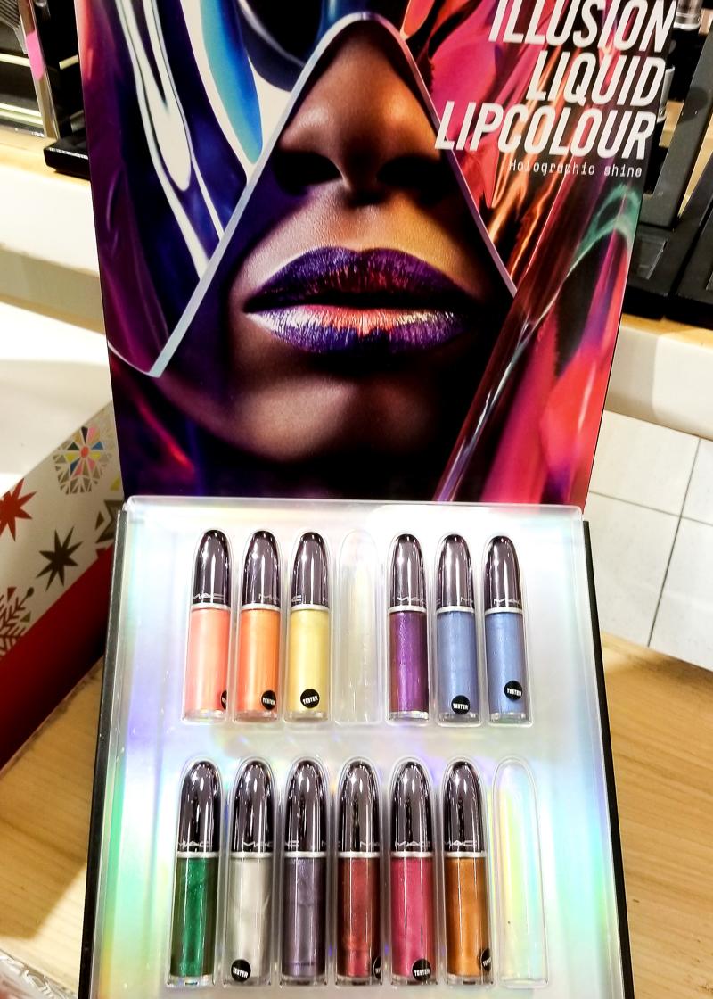 MAC Grand Illusion Liquid Lip Colours Lipgloss - Swatches