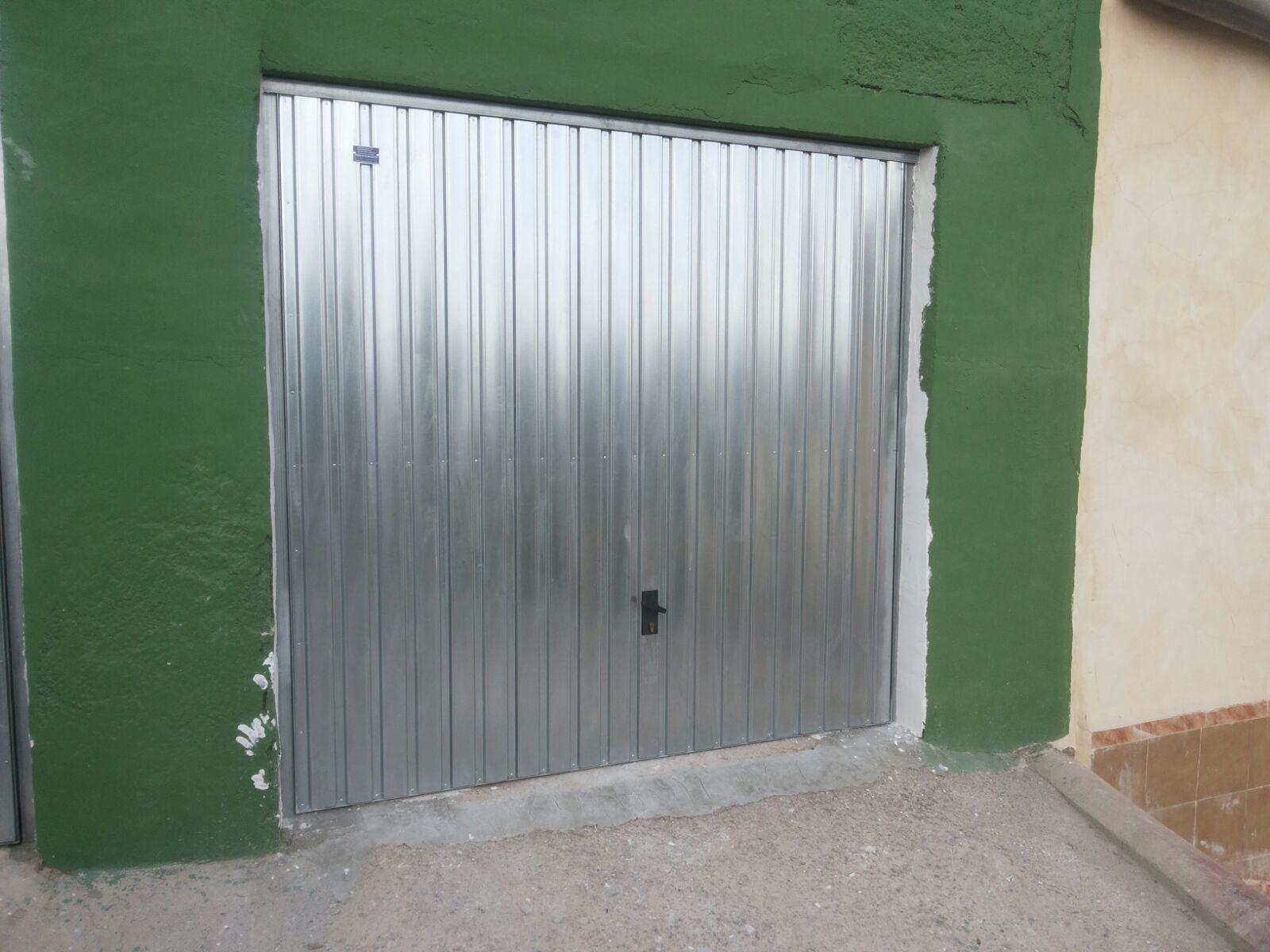 Tensar muelle puerta garaje excellent good comparte with - Muelles de puertas ...