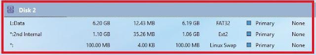 Memory Internal dan External memang tidak bisa terlepas dari smartphone Android Cara Partisi SD Card/MicroSD 8GB Menjadi 3 Bagian (FAT32, Ext2, dan Linux Swap) Menggunakan MiniTool Partition Wizard