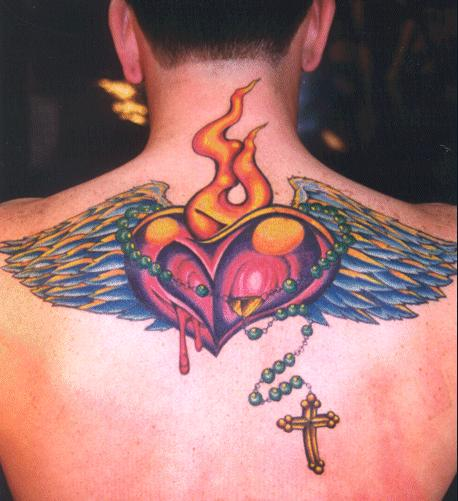 Hearts with wings tattoos |See To World