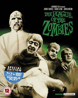 Edición en bluray de The plague of the zombies