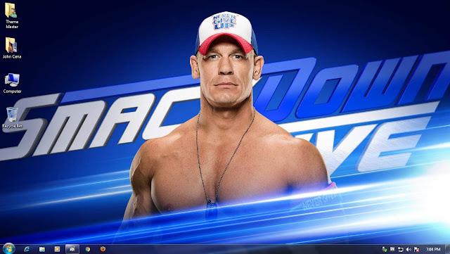 John Cena WWE theme for Windows 7 / 8 / 8.1 / 10