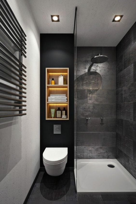 Modern Small Toilet Design Ideas & 40 Of The Best Modern Small Bathrooms \u0026 Functional Toilet Design ...