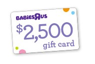 "If you have a due date any time after May 11th, simply set up a free baby registry and add at least $50 worth of Playtex items for your chance to win a gift card to Babies""R""Us worth $2500!"