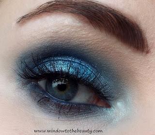 makijaż w zimnej tonacji